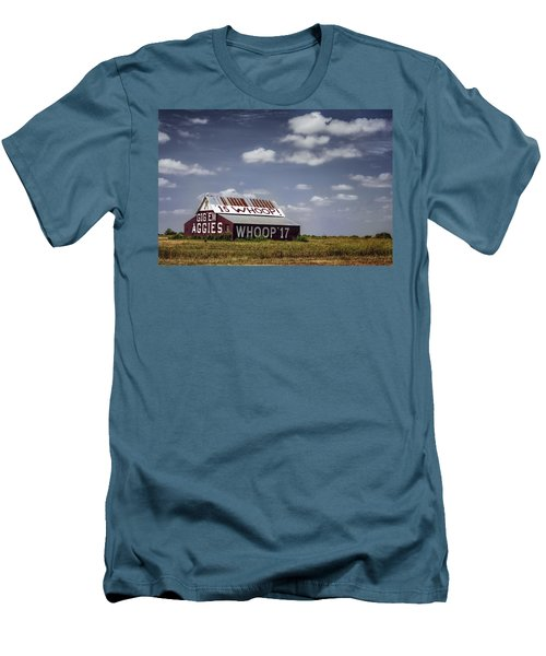Aggie Barn Men's T-Shirt (Slim Fit) by Joan Carroll
