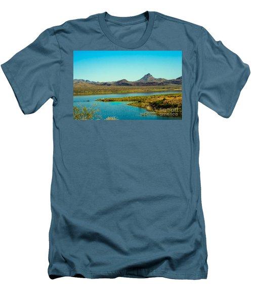 Alamo Lake Men's T-Shirt (Athletic Fit)