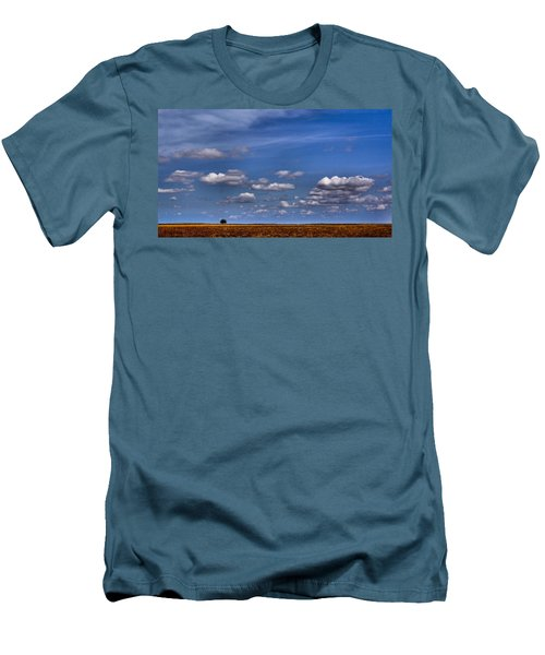 All By Myself Men's T-Shirt (Slim Fit) by Steven Reed
