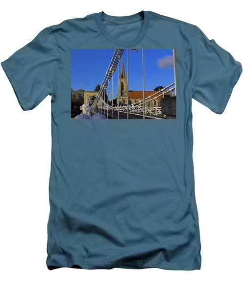 All Saints Church Men's T-Shirt (Athletic Fit)