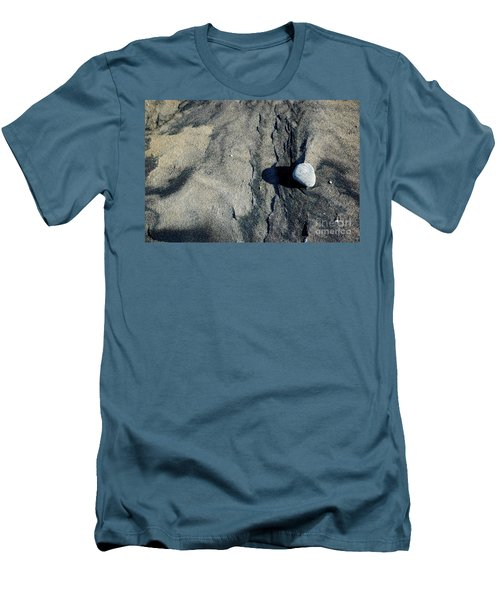 Men's T-Shirt (Athletic Fit) featuring the photograph Alone by Christiane Hellner-OBrien