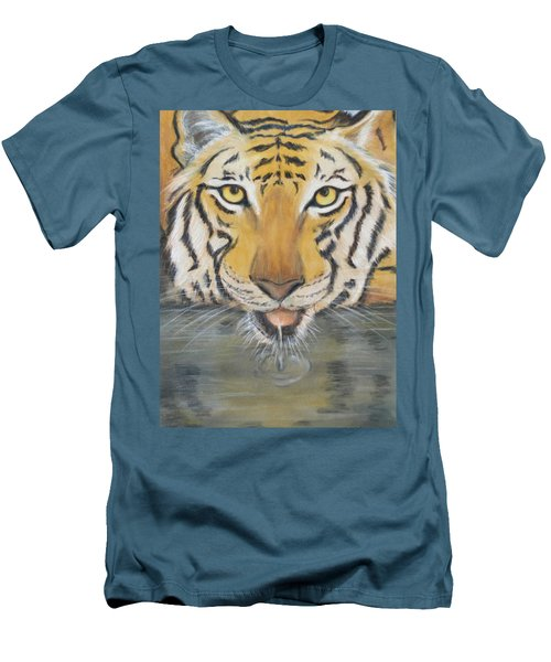 Always Watching  Men's T-Shirt (Slim Fit) by Patricia Olson