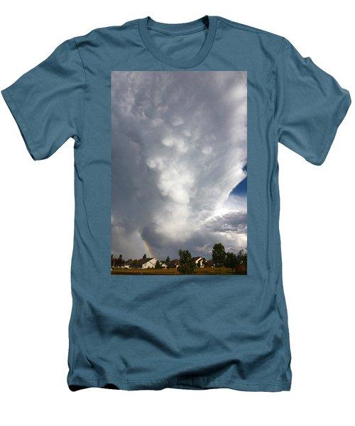 Amazing Storm Clouds Men's T-Shirt (Athletic Fit)