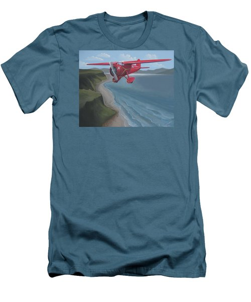 Amelia's Lockheed Vega Men's T-Shirt (Slim Fit) by Stuart Swartz