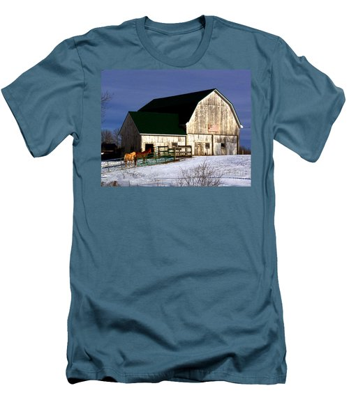 American Barn Men's T-Shirt (Athletic Fit)