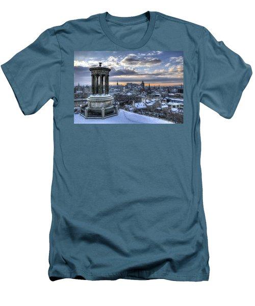 An Edinburgh Winter Men's T-Shirt (Athletic Fit)