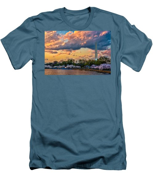 An Evening In Dc Men's T-Shirt (Slim Fit) by Christopher Holmes
