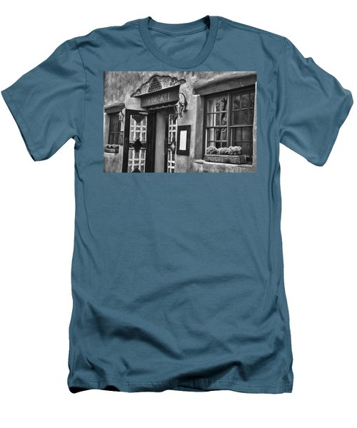 Men's T-Shirt (Slim Fit) featuring the photograph Anasazi Inn Restaurant by Ron White