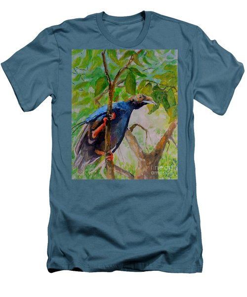 Angel Bird Of  North Moluccas Men's T-Shirt (Athletic Fit)