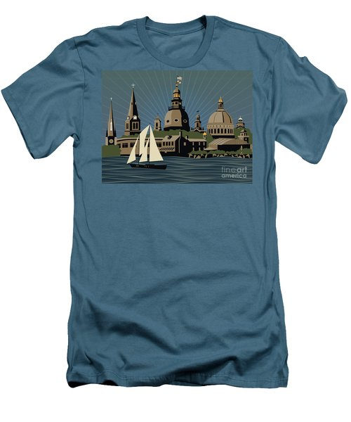 Annapolis Steeples And Cupolas Serenity Men's T-Shirt (Athletic Fit)