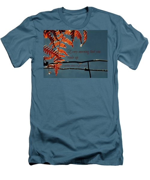 Another Chance Men's T-Shirt (Slim Fit) by Micki Findlay