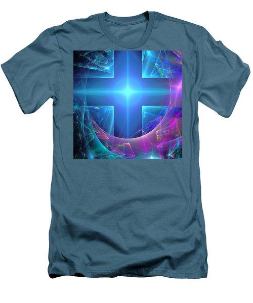 Approaching The Portal Men's T-Shirt (Slim Fit) by Svetlana Nikolova