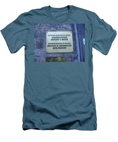 Archaeology Museum Men's T-Shirt (Athletic Fit)