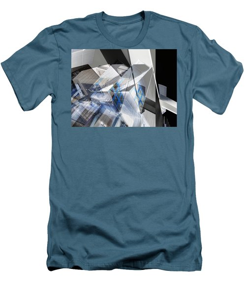 Architectural Abstract Men's T-Shirt (Slim Fit) by Wayne Sherriff