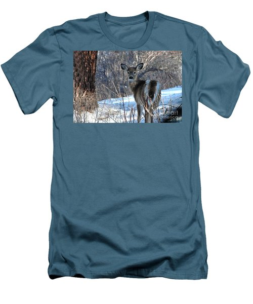 Are You Looking At Me Men's T-Shirt (Slim Fit) by Sam Rosen