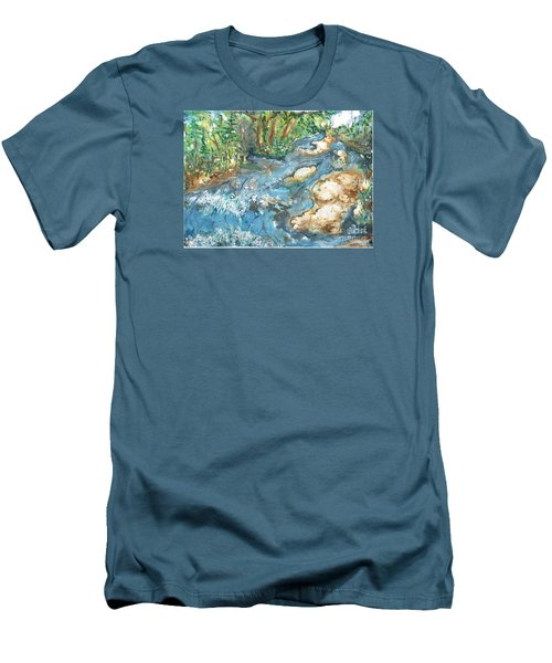 Arkansas Stream Men's T-Shirt (Athletic Fit)