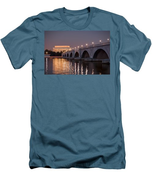 Arlington Memorial Bridge Men's T-Shirt (Athletic Fit)