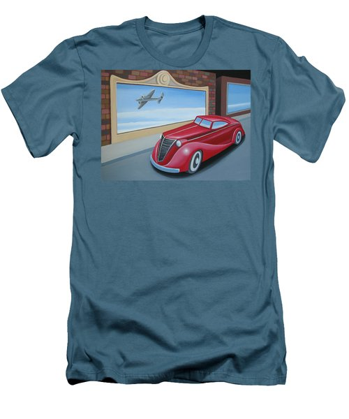 Art Deco Coupe Men's T-Shirt (Athletic Fit)