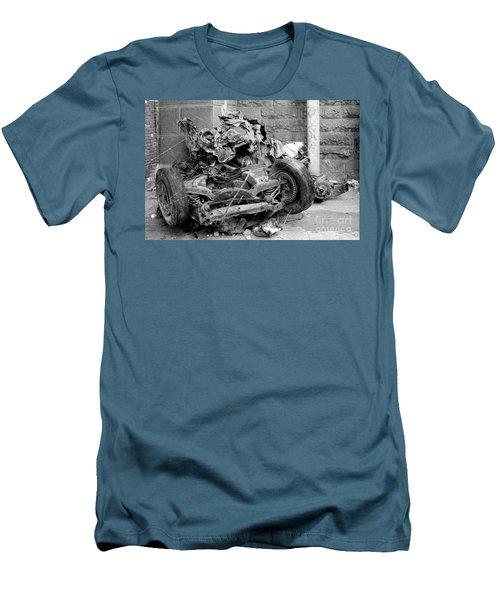 Men's T-Shirt (Slim Fit) featuring the photograph Art by Steven Macanka