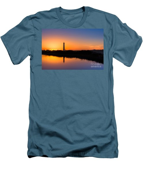 As The Sun Sets And The Water Reflects Men's T-Shirt (Athletic Fit)