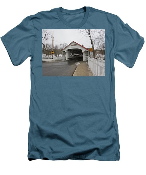 Ashuelot Bridge Men's T-Shirt (Athletic Fit)