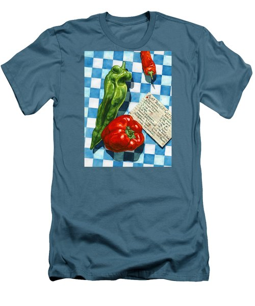 Aunt Rosa's Cornbread Men's T-Shirt (Slim Fit) by Lynda Hoffman-Snodgrass