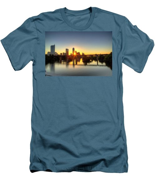 Austin Sunrise Men's T-Shirt (Athletic Fit)