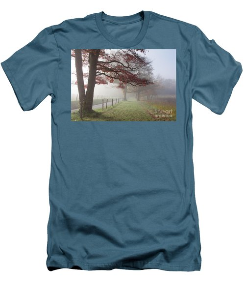 Autumn In The Cove IIi Men's T-Shirt (Athletic Fit)