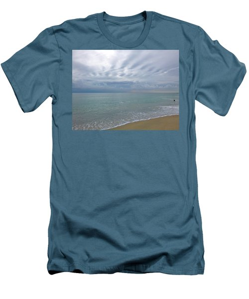 Autumn Clouds Men's T-Shirt (Slim Fit)