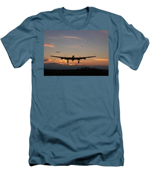Avro Lancaster - Dawn Return Men's T-Shirt (Athletic Fit)