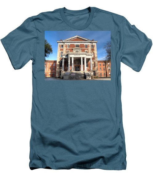 Babcock Building-2 Men's T-Shirt (Slim Fit) by Charles Hite
