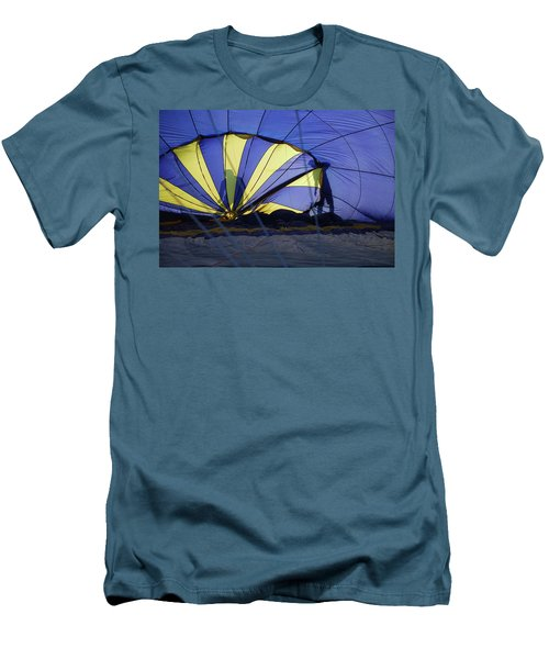 Men's T-Shirt (Slim Fit) featuring the photograph Balloon Fantasy 4 by Allen Beatty