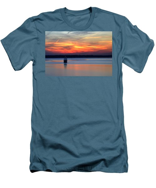 Baltimore Light At Gibson Island Men's T-Shirt (Athletic Fit)