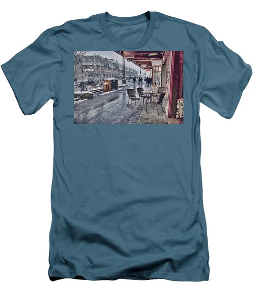 Banff Avenue Men's T-Shirt (Athletic Fit)