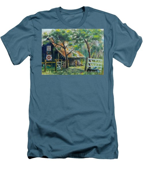 Barn Quilt Men's T-Shirt (Athletic Fit)