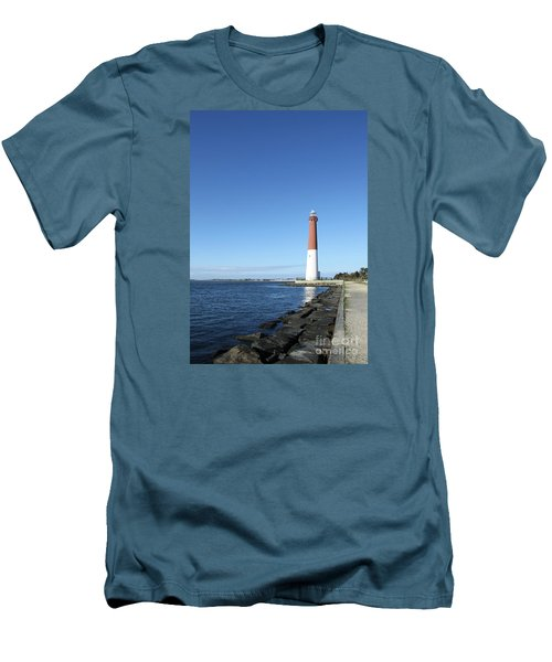 Barnegat Light - New Jersey Men's T-Shirt (Athletic Fit)