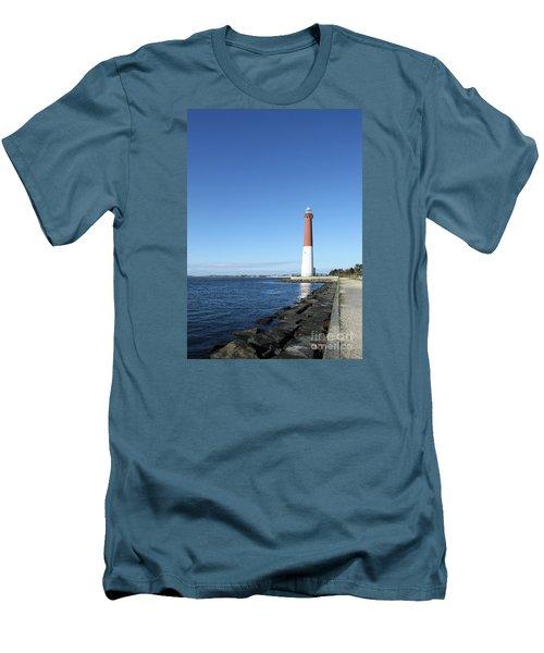 Barnegat Light - New Jersey Men's T-Shirt (Athletic Fit)