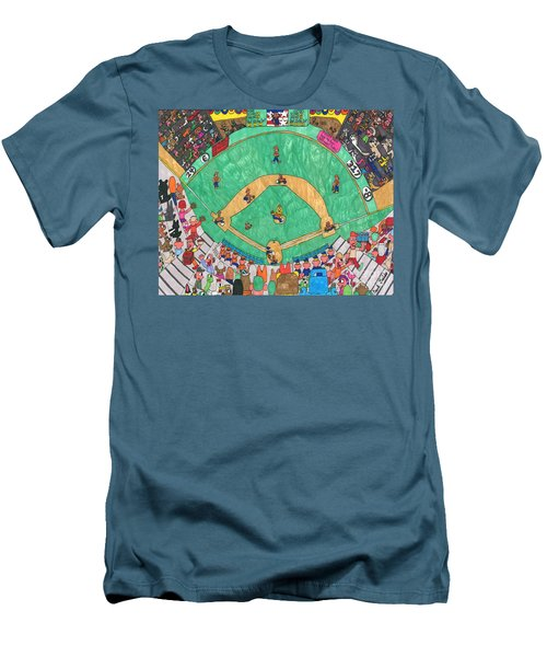 Baseball Men's T-Shirt (Athletic Fit)