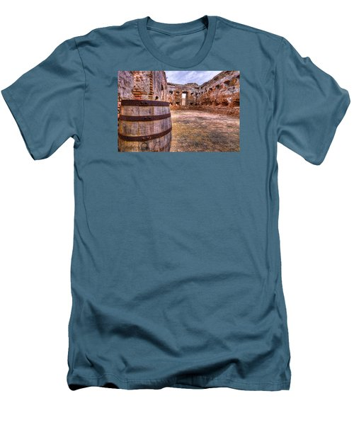 Men's T-Shirt (Slim Fit) featuring the photograph Battalion Barrell by Tim Stanley