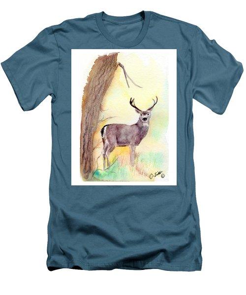 Be A Dear Men's T-Shirt (Slim Fit) by C Sitton
