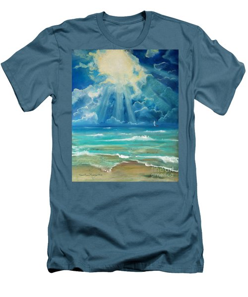 Beach Men's T-Shirt (Athletic Fit)