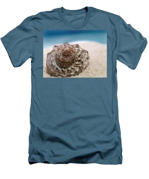 Men's T-Shirt (Slim Fit) featuring the photograph Beach Treasure by Micki Findlay