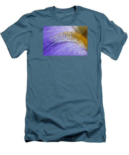 Beard Of The Iris Men's T-Shirt (Slim Fit)
