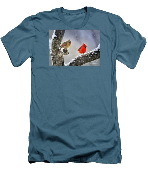 Beautiful Together Men's T-Shirt (Slim Fit) by Nava Thompson