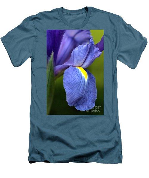 Men's T-Shirt (Slim Fit) featuring the photograph Beauty Of Iris by Joy Watson