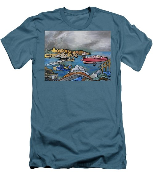 Before The Storm Men's T-Shirt (Slim Fit) by Barbara St Jean