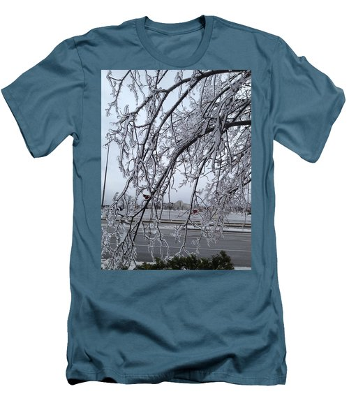 Bejewelled Branches Men's T-Shirt (Slim Fit) by Pema Hou