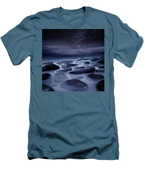 Beyond Our Imagination Men's T-Shirt (Slim Fit) by Jorge Maia