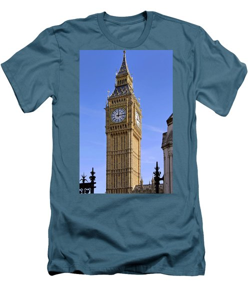 Big Ben Men's T-Shirt (Slim Fit) by Stephen Anderson
