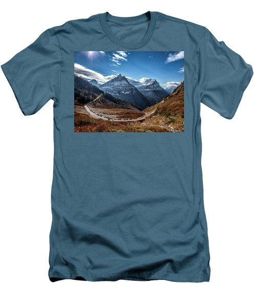 Big Bend Men's T-Shirt (Slim Fit) by Aaron Aldrich